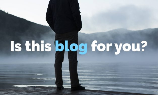 Is this blog for you?