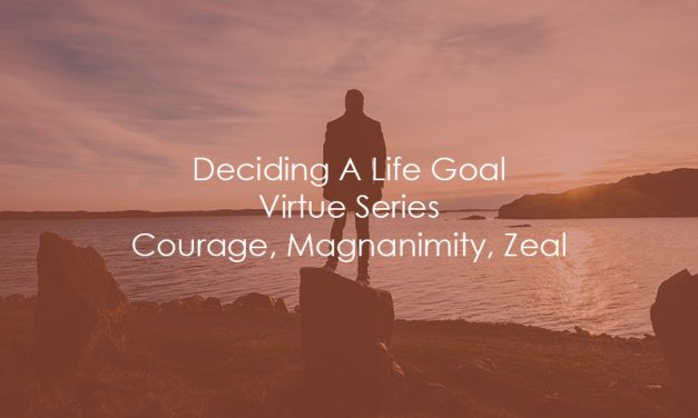 Deciding A Life Goal | Virtue Series | Courage, Magnanimity, Zeal