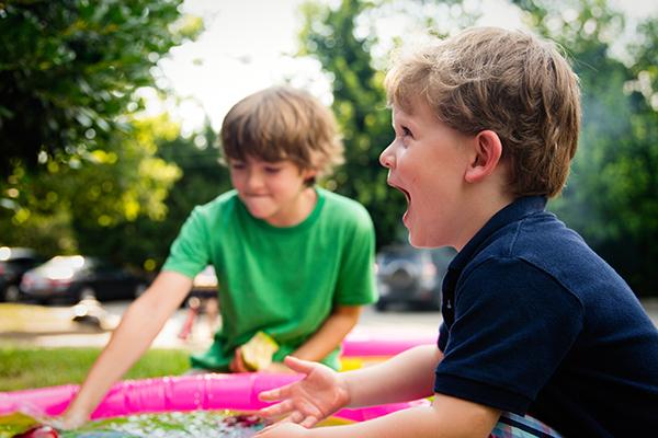 Treat Children Better | Boys Laughing