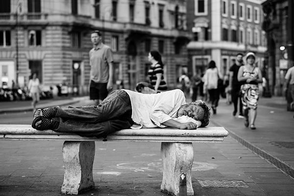 Everyone Struggles | Homeless Man
