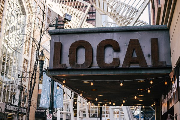 act locally | local sign
