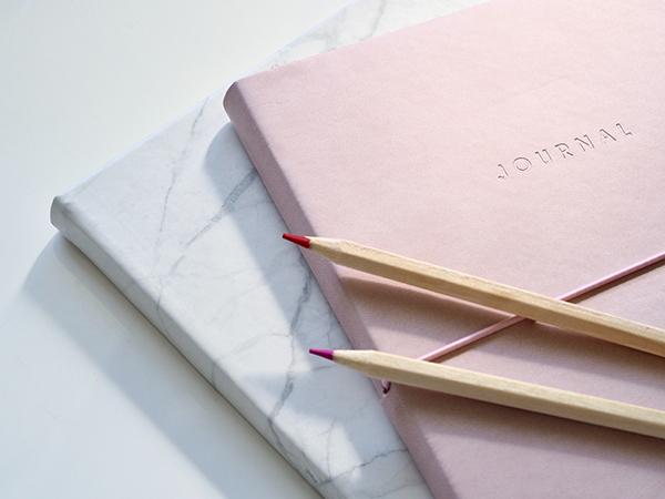 journal dialogue | pencil and journal