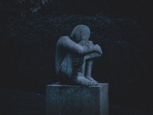 broken people | depressed individual