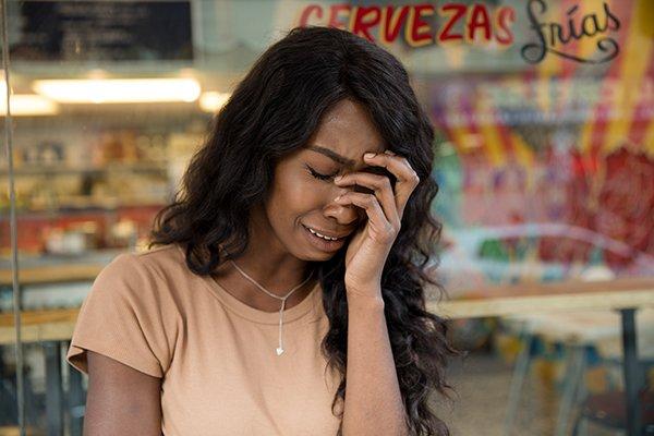 culture lies | sad woman
